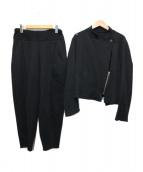 ISSEY MIYAKE(イッセイミヤケ)の古着「セットアップ」|ブラック