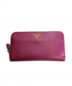 PRADA(プラダ)の古着「長財布」 ピンク