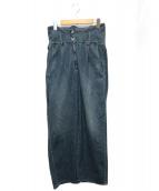 MM6(エムエムシックス)の古着「サスペンダー付パンツ」|ネイビー