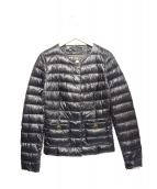HERNO(ヘルノ)の古着「ダウンジャケット」|ネイビー