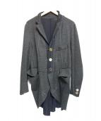 TAKAHIROMIYASHITA TheSoloIst.(タカヒロミヤシタザソロイスト)の古着「デザインジャケット」|グレー