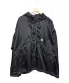 FLAGSTUFF(フラッグスタッフ)の古着「カスタムM-51ジャケット」|ブラック