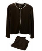 LEONARD(レオナール)の古着「3ピースセットアップ」|ブラウン