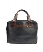 coronado leather(コロナド・レザー)の古着「2WAYブリーフケース」|ブラック