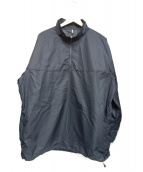 ETHOS(エトス)の古着「ハーフジップジャケット」|ネイビー