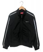 Supreme(シュプリーム)の古着「リフレクティブストライプトラックジャケット」 ブラック