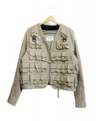 GENERAL RESEARCH(ジェネラルリサーチ)の古着「ミリタリージャケット」|ベージュ
