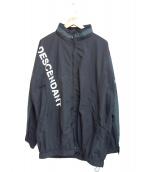 DESCENDANT(ディセンダント)の古着「テラスナイロンジャケット」|ブラック