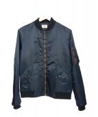 Rags McGREGOR(ラグスマックレガー)の古着「MA-1ジャケット」|ネイビー