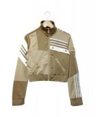 adidas× Danielle Cathari(アディダス×ダニエル カタリ)の古着「トラックジャケット」|ベージュ
