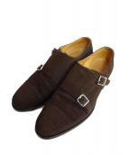 Santoni(サントーニ)の古着「シューズ」|ブラウン