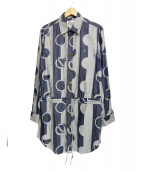 Vivienne Westwood man(ヴィヴィアンウエストウッドマン)の古着「ロングシャツ」|ブルー