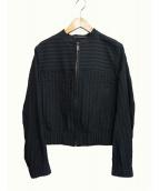 filage(フィラージュ)の古着「CRAFT SUCKERジャケット」|ブラック