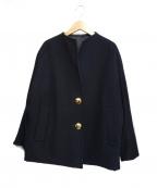 LA MARINE FRANCAISE(マリンフランセーズ)の古着「リバーシブルジャケット」|ブラック