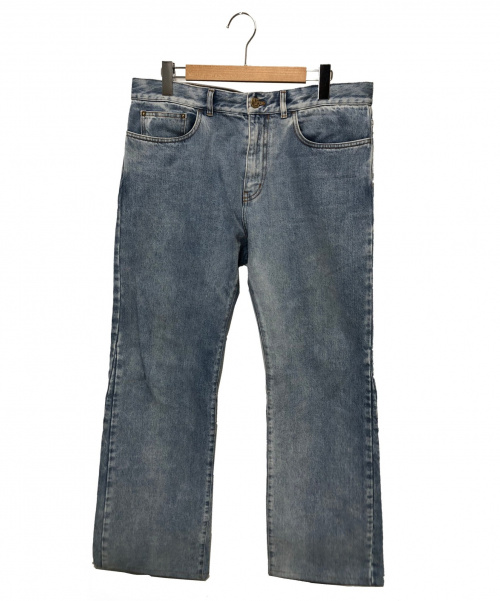 LOUIS VUITTON(ルイヴィトン)LOUIS VUITTON (ルイヴィトン) フレアデニムパンツ スカイブルー サイズ:34 HHD41WLVP 19AW 参考定価¥97,000+TAXの古着・服飾アイテム