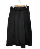 Y's(ワイズ)の古着「ワイドニットパンツ」|ブラック