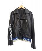 CHRISTIAN DADA(クリスチャンダダ)の古着「ライダースジャケット」|ブラック