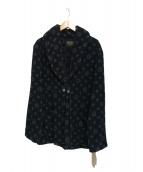 BY GLADHAND(バイグラッドハンド)の古着「パイルジャケット」|ブラック