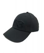 Y-3(ワイスリー)の古着「ロゴキャップ」|ブラック