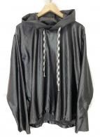 YSTRDYS TMRRW(イエスタディズトゥモロー)の古着「プルオーバーパーカー」|ブラック