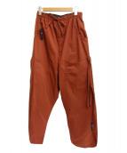 SYU.HOMME/FEMM(シュウオムフェム)の古着「リラックスパンツ」|ブラウン