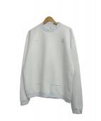 OAMC(オーエーエムシー)の古着「クルーネックスウェット」|ホワイト