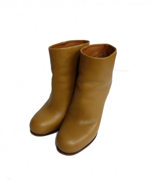 CELINE(セリーヌ)CELINE (セリーヌ) ショートブーツ ブラウン サイズ:35 定価¥135000 314863CIBD.04FG.35の古着・服飾アイテム