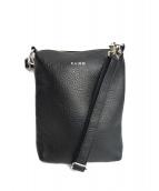 KAIKO(カイコー)の古着「レザーショルダーバッグ」|ブラック