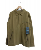 GRAMICCI(グラミチ)の古着「アカディアパーテックスジャケット」|オリーブ