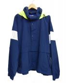 le coq sportif × is-ness(ルコックスポルティフ×イズネス)の古着「アノラックジャケット」|ネイビー