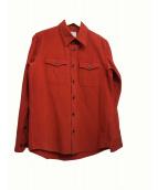 VISVIM(ヴィスヴィム)の古着「フランネルシャツ」|レッド