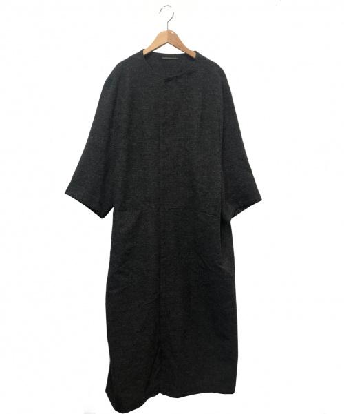 Y's(ワイズ)Y's (ワイズ) ノーカラーコート グレー サイズ:下記参照 YI-C08-119の古着・服飾アイテム