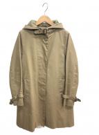 Traditional Weatherwear(トラディショナルウェザーウェア)の古着「比翼コート」 ベージュ