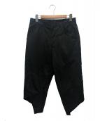 BLACK COMME des GARCONS(ブラックコムデギャルソン)の古着「変形パンツ」