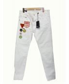 DSQUARED2(ディースクエアード)の古着「デニムパンツ」|ホワイト