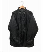 Rags McGREGOR(ラグスマックレガー)の古着「ナイロンシャツ」|ブラック