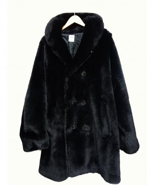 BEDWIN(ベドウィン)BEDWIN (ベドウィン) ファーコート ブラック サイズ:M 19AW JIMMIE 定価¥71500の古着・服飾アイテム