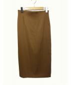 Deuxieme Classe(ドゥーズィエムクラス)の古着「タイトスカート」 ブラウン