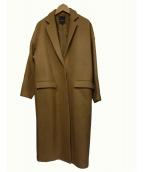 Demi-Luxe BEAMS(デミルクスビームス)の古着「キャメル100%チェスターコート」|ブラウン
