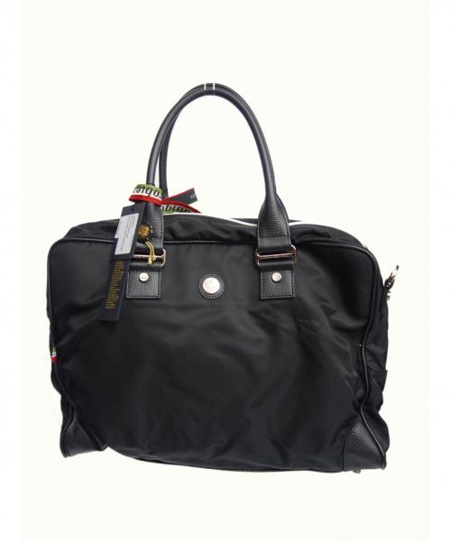 Orobianco(オーロビアンコ)Orobianco (オロビアンコ) ビジネスバッグ ブラック サイズ:下記参照 VERNE-G 定価¥46200 イタリア製の古着・服飾アイテム