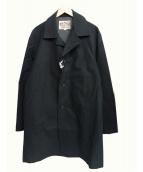 CALEE(キャリ)の古着「ショップコート」|ブラック