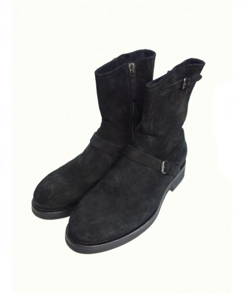 BUTTERO(ブッテーロ)BUTTERO (ブッテーロ) エンジニアブーツ ブラック サイズ:42 B8541 19AW 定価¥83600の古着・服飾アイテム