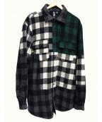 LIAM HODGES(リアムホッジス)の古着「BIGチェックシャツ」|マルチカラー