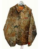 HERON PRESTON(ヘロン プレストン)の古着「ナイロンジャケット」|ブラウン