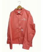 Dickies × UNION(ディッキーズ × ユニオン)の古着「コーチジャケット」 ピンク
