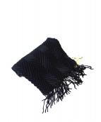 alonpi(アロンピ)の古着「カシミヤマフラー」|ブラック
