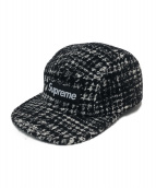 Supreme(シュプリーム)の古着「ツイードキャップ」|ブラック
