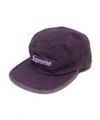 Supreme(シュプリーム)の古着「キャップ」|パープル