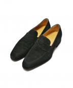 Ferrante(フェランテ)の古着「スウェードローファー」|ブラック
