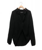 Y's for men(ワイズ)の古着「ニットジャケット」|ブラック